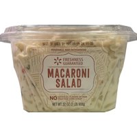 Freshness Guaranteed Macaroni Salad 2LB