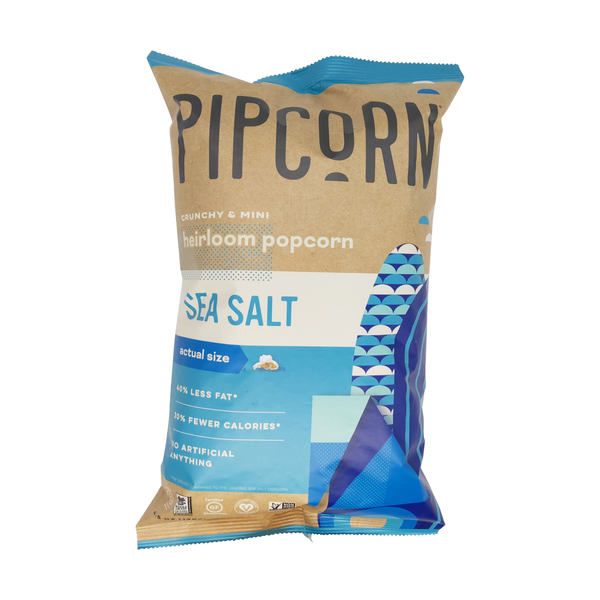 Pipcorn Sea Salt Popcorn, 4 oz