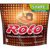Rolo Creamy Caramels Wrapped in Rich Chocolate Candy
