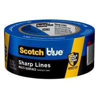 ScotchBlue Sharp Lines Painter's Tape, 1.88 in x 60 yd, 1 Roll/Pack