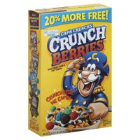 Cap'n Crunch Breakfast Cereal, Crunch Berries, 22.4 oz Box