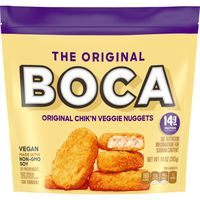 Boca Chik'n Veggie Nuggets Made With Non-GMO Soy