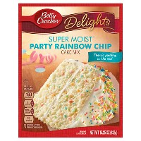 Betty Crocker Rainbow Chip Cake Mix - 15.25oz