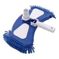Mainstays 14.4-Inch Pool Vacuum Head with Swivel and Side Brushes