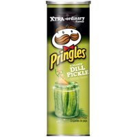 Pringles Screamin' Dill Pickle Potato Crisp Chips 5.5 oz.