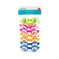 Way to Celebrate! Assorted Neon Eyeball Glasses, 8ct. by Horizon Group USA