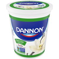 Dannon Classic Lowfat Non-GMO Project Verified Vanilla Yogurt