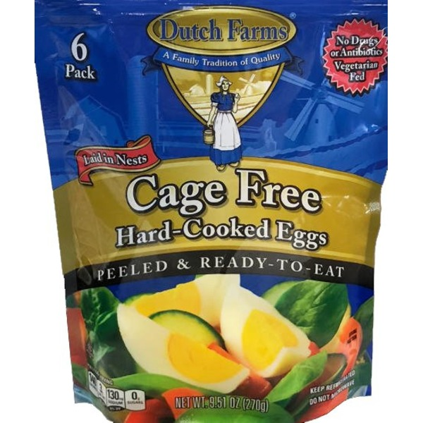 Dutch Farms Cage Free Hard Boiled Eggs