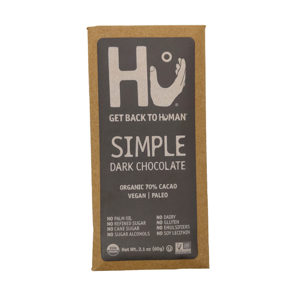 Hu kitchen Simple Chocolate Bar, 2.1 oz
