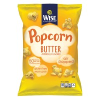 Wise Artificially Flavored Butter Popcorn - 6oz