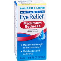 Bausch & Lomb Advanced Eye Relief Redness Reliever/Lubricant Eye Drops