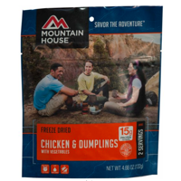 Mountain House Freeze-Dried Chicken And Dumplings With Vegetables - 2 Servings