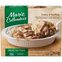 Marie Callenders Meal for Two Multi-Serve Frozen Dinner Turkey & Stuffing 24 Ounce