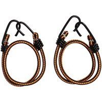 Hyper Tough 2 pack Heavy Duty 24 inch Bungee Cord with Coated Hooks