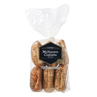 Marketside Multigrain Ciabatta Rolls, 18 oz, 6 Count