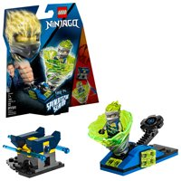 LEGO Ninjago Spinjitzu Slam - Jay 70682 Tornado Spinner Toy (72 Pieces)