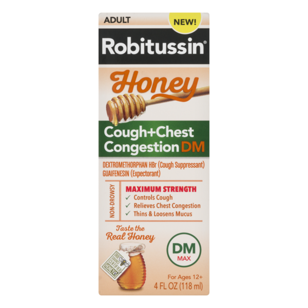 Robitussin Cough + Chest Congestion DM Honey