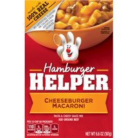 Hamburger Helper Cheeseburger Macaroni Hamburger Helper 6.6 Oz