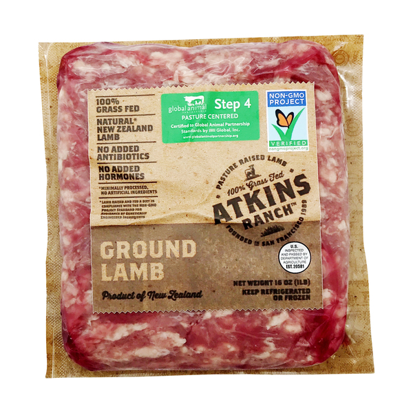 Ground Lamb, 16 oz