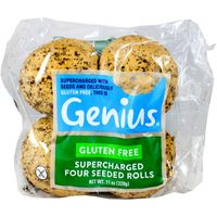 Genius Gluten Free Triple Seeded Rolls