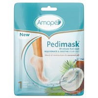 Amope Pedimask 20-Minute Foot Mask - Coconut Oil