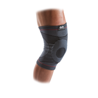 McDavid Knee Compression Knit Sleeve w/ Gel Buttress, Small/Medium