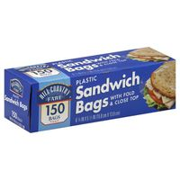 Hill Country Fare Sandwich Bags Fold Over Top