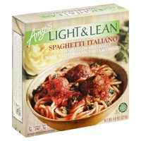 Amy's Light & Lean Spaghetti Italiano, Meatless Meatballs, Dairy Free, 8-Ounce