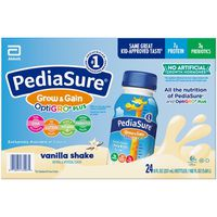 Pediasure Optigro Vanilla Kids Shake, 24 x 8 fl oz