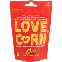 Love Brands Corn Snack, Habanero Chili