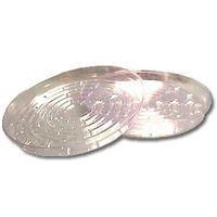 """Curtis Wagner 8""""  Clear Vinyl Plant Saucer"""