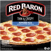 Red Baron® Thin & Crispy Crust Pepperoni Pizza, 15.77 oz Box