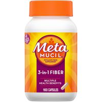 Metamucil Psyllium Fiber Supplement Capsules