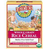 Earth's Best Organic Whole Grain Rice Infant Cereal - 8 oz.