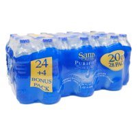 Sam's Choice Purified Drinking Water, 20 Fl. Oz., 28 Count