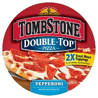Tombstone Double Top Pepperoni Frozen Pizza - 23.7oz