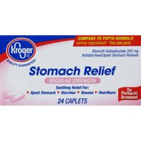 Kroger Regular Strength Stomach Relief Caplets