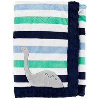 Child of Mine by Carter's, Plush Valboa Blanket - Baby Boys