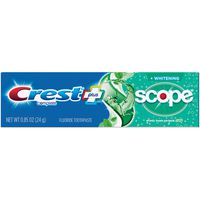 Crest Complete Whitening Toothpaste, Minty Fresh