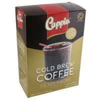 Cappio Coffee, Ground, Cold Brew, Filter Pack