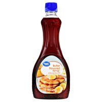 Great Value Butter Flavored Syrup, 24 fl oz