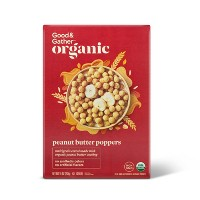 Organic Peanut Butter Poppers 10oz - Good & Gather™