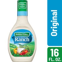 Hidden Valley Original Ranch Salad Dressing & Topping, Gluten Free - 16 Ounce Bottle