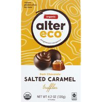 Alter Eco Organic Salted Caramel Chocolate Truffles