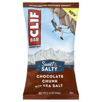 CLIF Bar Sweet & Salty Collection Chocolate Chunk with Sea Salt Energy Bar