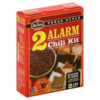 Wick Fowler's Famous Texas Style Alarm Chili Kit