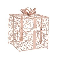 Reception Gift Card Holder Rose Gold