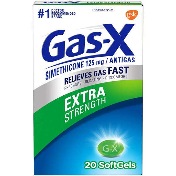Gas-x Extra Strength Gas Relief Softgels