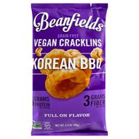 Beanfields Vegan Cracklins, Grain Free, Korean BBQ