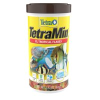 Tetra TetraMin Tropical Fish Food Flakes, XL, 2.82 oz